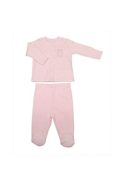 kitikate Kız Bebek Organik Basic 1 3 Ay Ikili Takım Bebek Doğum Hediyesi