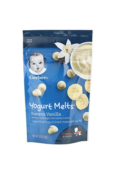 GERBER Yogurt Melts Banana Vanilla 28 gr