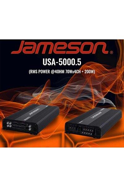 Jameson Usa-5000.5 Profesyonel 5 Kanallı Anfi 4ohm70wx4ch+200w 2ohm 130wx4ch+
