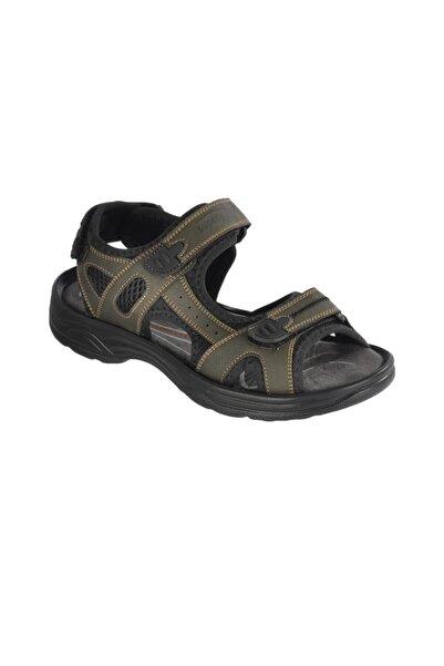 pabucmarketi Kadın Haki Sandalet