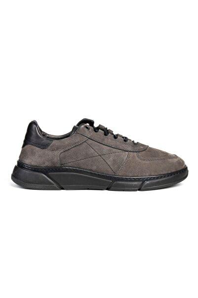 Greyder Erkek Gri Bağcıklı Casual Ayakkabı