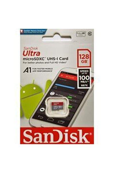 SanDisk Ultra 128gb Micro Sd Hafıza Kartı C10 Uhs-ı 100mb/s Sdsquns 834440