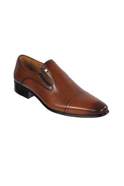 Fosco Taba Erkek Hakiki Deri Klasik Ayakkabı