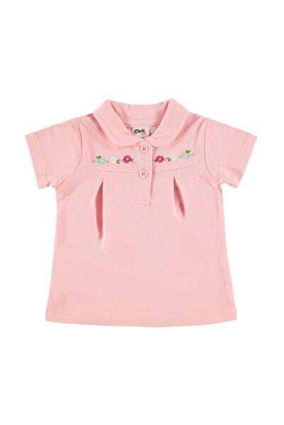 Civil Baby Kız Bebek Tişört 6-18 Ay Pembe