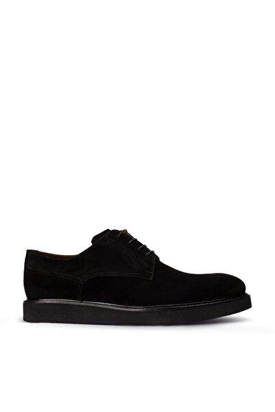 Deery Erkek Hakiki Süet Siyah Günlük Ayakkabı