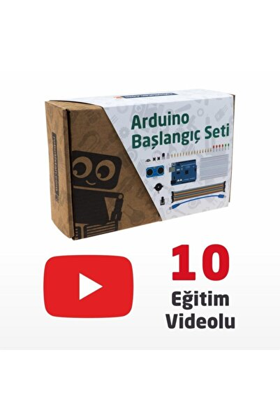 Robotistan Arduino Uno R3 Başlangıç Seti - Starter Kit (klon) Kitaplı Ve Videolu