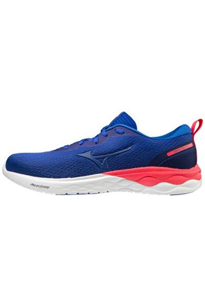 MIZUNO Erkek Mavi Bağcıklı Koşu Ayakkabısı