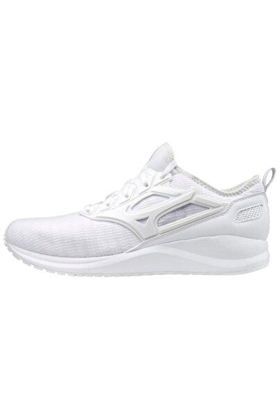 MIZUNO Unisex Beyaz Bağcıklı  Koşu Ayakkabısı