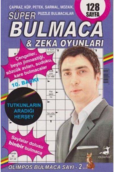Olimpos Yayınları Süper Bulmaca Zeka Oyunları 2
