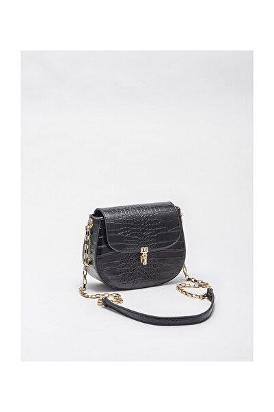 Elle Shoes Siyah Kadın Çapraz Çanta
