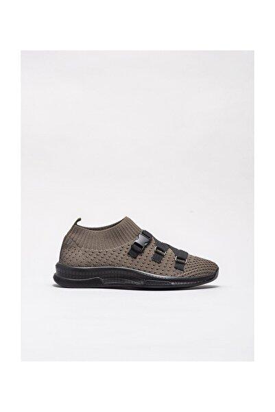 Elle Shoes Haki Kadın Spor Ayakkabı