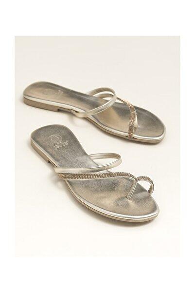 Elle Shoes Lınnet Gold Kadın  Terlik 20YDS54133