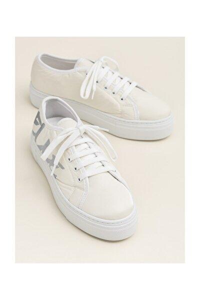 Elle Shoes JENET Beyaz Sneaker Kadın Sneaker 20YBB166