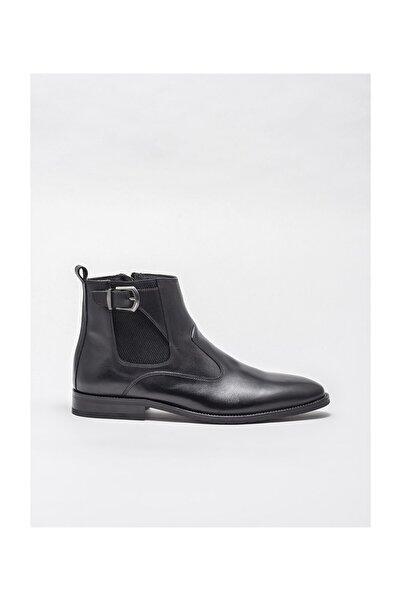 Elle Shoes Erkek Gregor Sıyah Bot & Bootie 20KLE2122