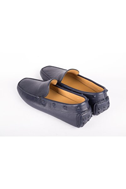 Valentino Garavani Erkek Lacivert Loafer Ayakkabı