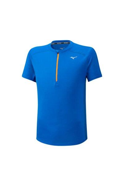 MIZUNO Er Trail Hz Tee Erkek Mavi T-shirt
