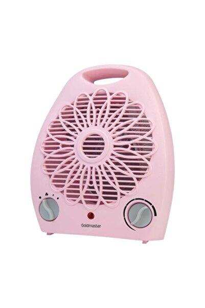 GOLDMASTER Summer Pembe 2000w Fanlı Isıtıcı Soğuk-ılık-sıcak