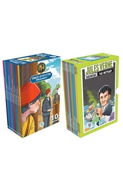 Mavi Çatı Yayınları Jules Verne Ve Ömer Seyfettin Seti Toplam 20 Kitap