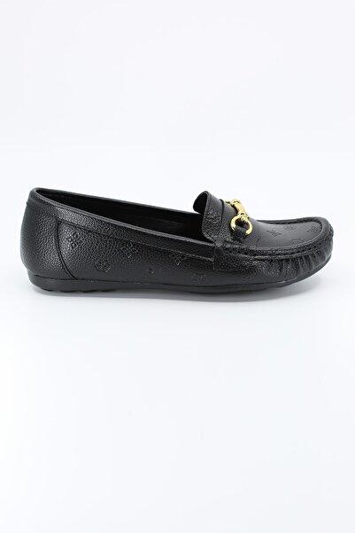 Pierre Cardin Kadın Siyah Babet Ayakkabı Pc-50696 20w04050696