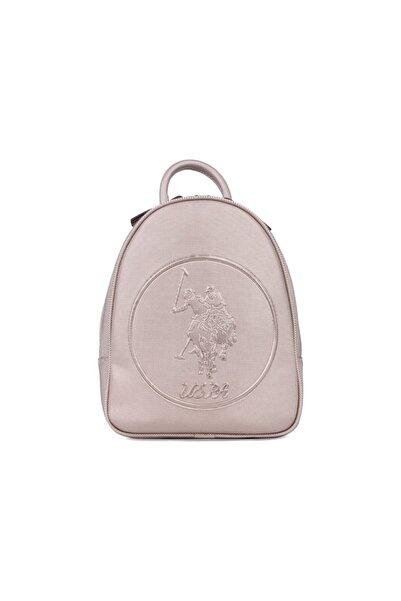 U.S. Polo Assn. Kadın   Kabartma Logo Baskılı Sırt Çantası Us20842