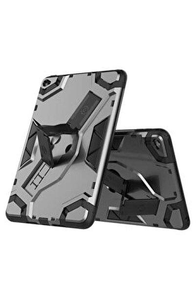 Apple Ipad Mini 5 Kılıf Tank Zırhlı Standlı Korumalı Metalik Kapak