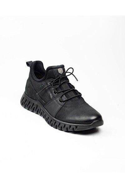 MARCOMEN Erkek Siyah Günlük Ayakkabı