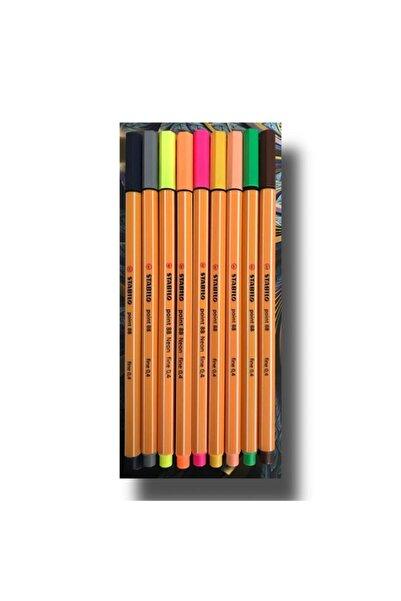 Stabilo Point 88 İnce Keçe Uçlu Kalem Set 9'lu