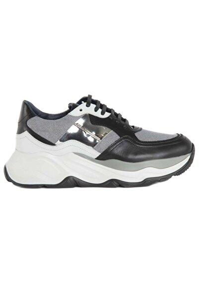 ALBERTO GUARDIANI Erkek Siyah Bağcıklı Sneaker