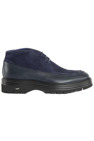 ALBERTO GUARDIANI Erkek Lacivert Bağcıklı Ayakkabı