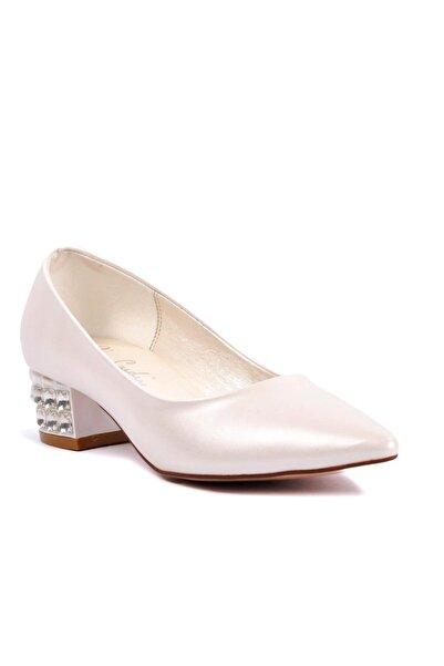 Pierre Cardin Kadın Beyaz Topuklu Ayakkabı