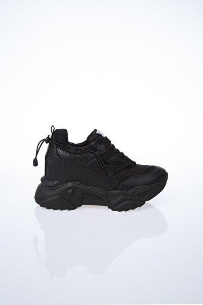 Pierre Cardin Pc-30192 Siyah Kadın Spor Ayakkabı