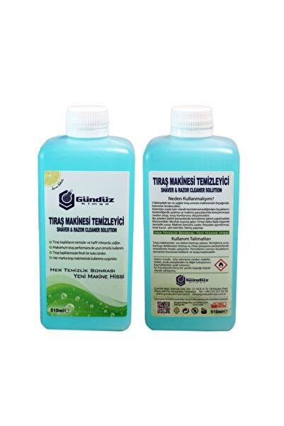 Gündüz Kimya Tıraş Makinesi Temizleme Sıvısı Muadil Ürün 510 ml x 2 Adet