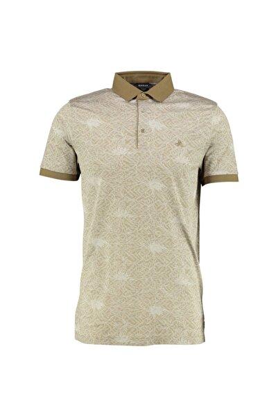 Sarar Erkek Bej Premium Polo Yaka T-Shirt