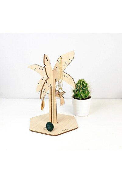ST Design Mdf Palmiye Ağacı Takı Düzenleyici Organizer