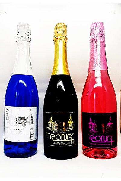 TRONA Alkolsüz Şampanya 75 Cl*3'lü Paket