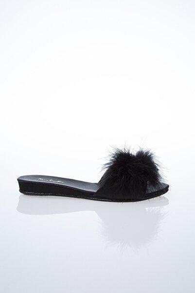 Pierre Cardin Kadın Siyah Terlik Pc-0015