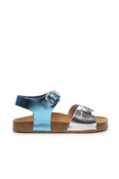 Chili Unisex Çocuk Gri Derı  Sandalet104 09750 Sand 22/30