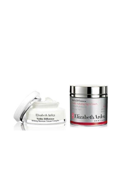 Elizabeth Arden Visible Difference Night Krem 50 Ml+nemlendirici 75 Ml
