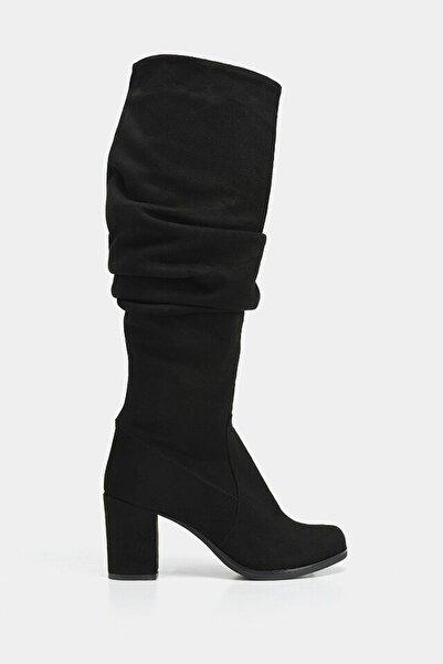 Hotiç Siyah Kadın Çizme