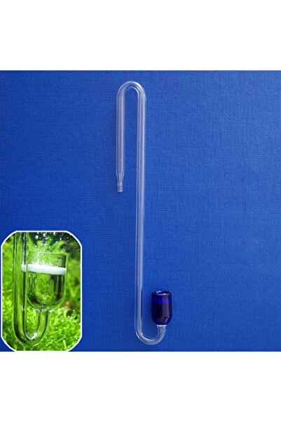 NO NAME Cam Difüzör Askı Aparatlı Mavi 20 Cm