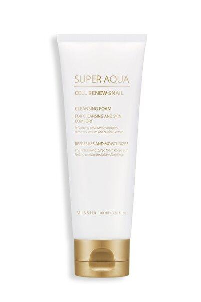 Missha Mıssha Salyangoz Özlü Temizleme Köpüğü Super Aqua Cell Snail Cleansing Foam8809581458550