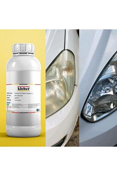 Kleber 1lt Kloroform Buharlı Araç Far Parlatma Temizleme Kimyasalı Ilacı