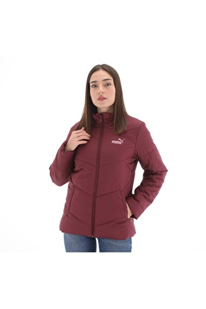 Puma 582210-18 Ess Padded Jacket Kadın Mont Bordo