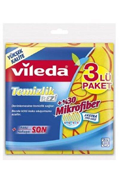 Vileda Extra Mikrofiberli Temizlik Bezi 3lü Adet