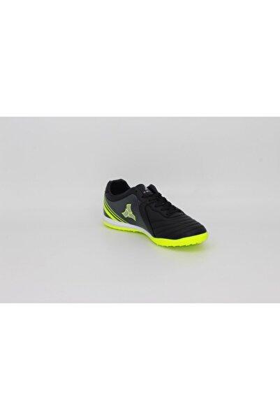 Twingo Erkek Siyah Sarı Halı Saha Spor Ayakkabı 210