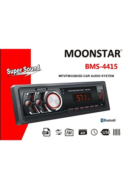 Moonstar Bms-4415 4 X 25 Watt Bluetooth Teyp