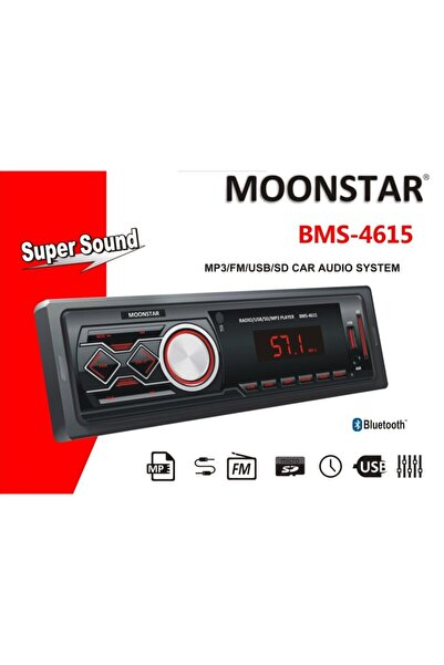 Moonstar Bms-4615 4 X 25 Watt Bluetooth Teyp