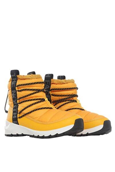 THE NORTH FACE Kadın Sarı Thermoball Lace 3 Ayakkabı Nf0a4azgzu31
