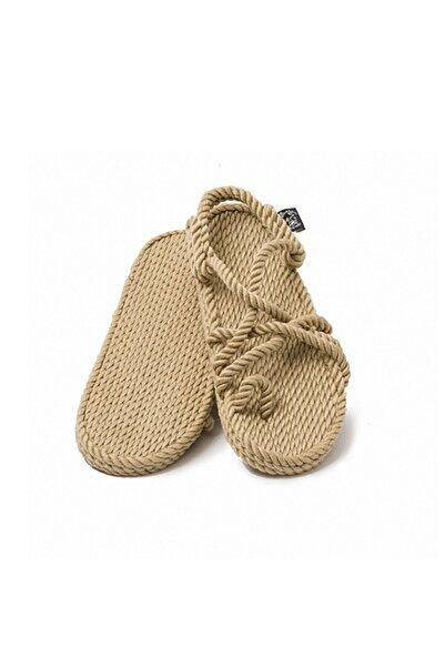 Nomadic State Of Mind Kadın Camel Toe Joe Hasır İp Sandalet