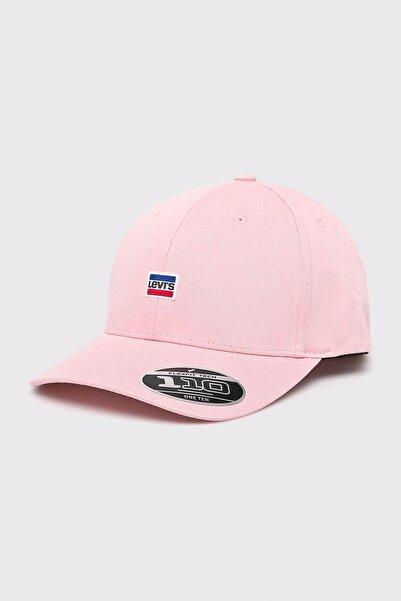Levi's Unisex Pembe Flexfit Şapka